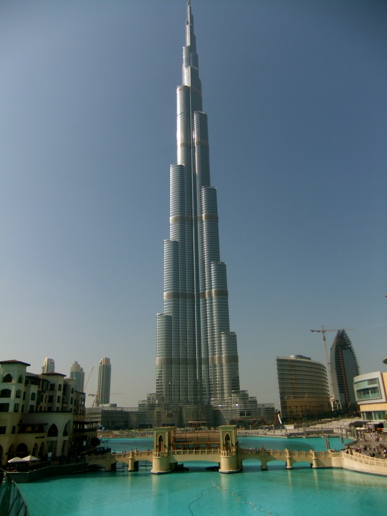 Burj khalifa explore the world for Al burj dubai