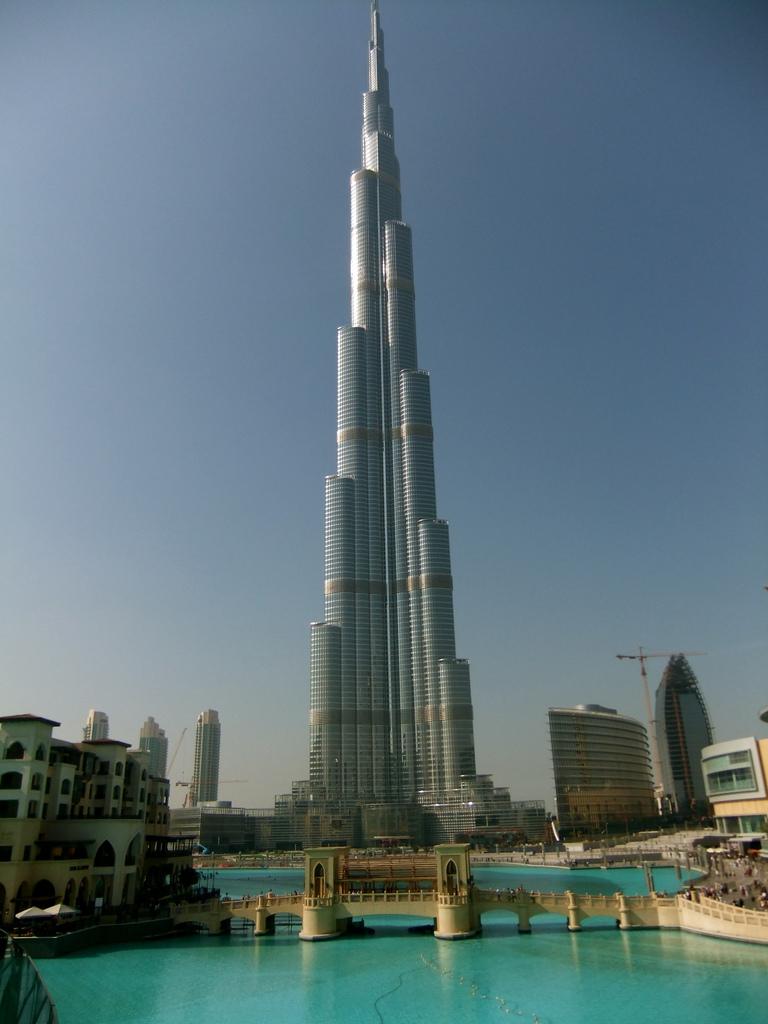 Burj khalifa explore the world for The burg hotel dubai